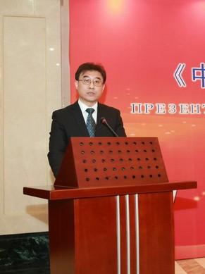 """他强调,中国正致力于实现中华民族伟大复兴的""""中国梦"""",白俄罗斯人民"""