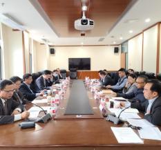 11月14日,沈国放执行理事长出席活动